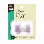 "Easy Grasp Pins -60 Pins 1.5""/38mm by Dritz - Patchwork & Quilting Pins"