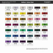 Wonderfil GlaMore Golden Poppy (1139) 12wt Rayon & Metallic Thread 274m (300yd) spool by Wonderfil Glamore 12wt Rayon/Metallic - GlaMore 12wt Rayon & Metallic