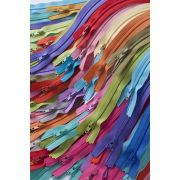 """22 inch Turquoise Splash Zipper by Atkinson Designs Zippers 22"""" - OzQuilts"""