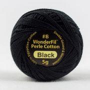 Eleganza Perle 8 Balls - Black (EL5Gblack)  by Wonderfil Eleganza Perle 8 Balls - Eleganza Perle 8 Balls