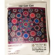 Paper Piecing Pack For The Can Can Quilt from Millefiori Quilts 3 by Paper Pieces - Paper Pieces Kits & Templates