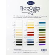 Superior Threads MicoQuilter Thread Colour Chart by Superior Threads - Thread Colour Charts