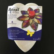 Bosal In-R-Form Precut Fusible Interfacing -8 Leaf Shapes for the Fold'n Stitch Leaf Topper by PoorHouse Quilt Designs Pre-Cut Batts - OzQuilts