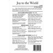 Joy to the World Pattern by Art to Heart by Art to Heart - Christmas