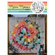 Modern Mandala Quilt Pattern by Freebird Quilting Designs by Free Bird Quilting Designs Applique - OzQuilts