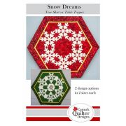 Snow Dreams Christmas Tree Skirt or Table Topper Pattern by  - Christmas