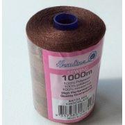HemLine, 100% Polyester Thread, 1000 metre Chocolate by Sew Easy - Hemline Polyester Thread
