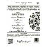 Christmas Celebrations Tree Skirt By Quiltworx -Extra Foundation Papers Only by Quiltworx - Christmas