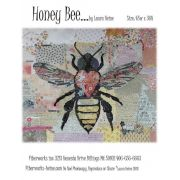 Honey Bee Collage Pattern by Fiberworks Collage  - OzQuilts