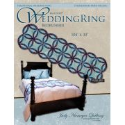 Quiltworx Wedding Ring Bedrunner Quilt Pattern & Foundation Papers by Quiltworx - Judy Niemeyer Quiltworx