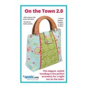 On The Town 2.0 Bag Pattern by Annie Unrein by ByAnnie - Bag Patterns