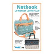 Netbook Computer Carriers 2.0 Bag Pattern by Annie Unrein by ByAnnie - Bag Patterns