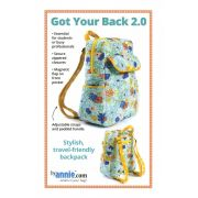 Got Your Back 2.0 Bag Pattern - By Annie by ByAnnie - Bag Patterns
