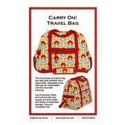 Carry On Travel Bag Bag Pattern - By Annie by ByAnnie - Bag Patterns