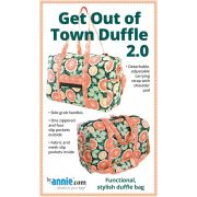 Get Out Of Town Duffle 2.0 Bag Pattern - By Annie by ByAnnie - Bag Patterns