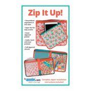 Zip It Up! Bag Pattern - By Annie by ByAnnie - Bag Patterns