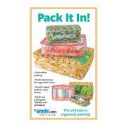 Pack It In! Bag Pattern - By Annie by ByAnnie - Bag Patterns
