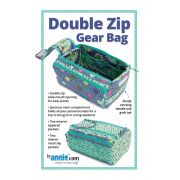 Double Zip Gear Bags Pattern - By Annie by ByAnnie - Bag Patterns