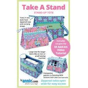 Take A Stand Bag Pattern by Annie Unrein by ByAnnie - Bag Patterns