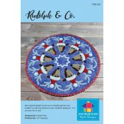 Rudolph And Co Table Topper Pattern by PoorHouse Quilt Designs - Christmas