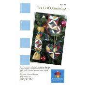 Tea Leaf Christmas Ornaments Pattern by PoorHouse Quilt Designs - Christmas