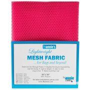 """ByAnnie Lightweight Mesh 18"""" x 54"""" Lipstick by ByAnnie - Lightweight Mesh"""