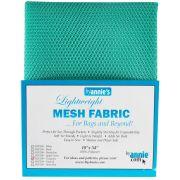 """ByAnnie Lightweight Mesh 18"""" x 54"""" Turquoise by ByAnnie - Lightweight Mesh"""