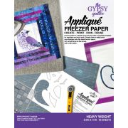 "Gypsy Quilter Heavier Weight Freezer Paper 8½"" x 11"" (50) by The Gypsy Quilter - Freezer Paper"