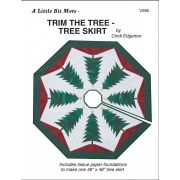Trim the Tree Skirt Pattern and Tissue Foundation Papers by A Very Special Collection Patterns & Foundation Papers - OzQuilts