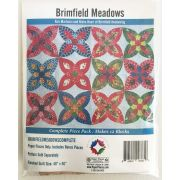 Brimfield Meadows Complete Paper Piecing Pack Makes 12 Blocks by Paper Pieces - Paper Pieces Kits & Templates