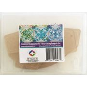 Brimfield Meadows Acrylic Fabric Cutting Template Set by Paper Pieces - Paper Pieces Kits & Templates