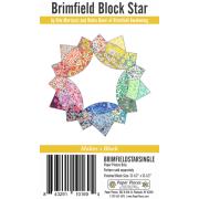 Brimfield Block Star English Paper Piecing Pack Makes 1 Block by Brimfield Awakening - Paper Pieces Kits & Templates