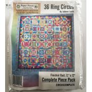 36 Ring Circus Quilt Along Complete Paper Piece Pack and Pattern by JoAnne Louis by Paper Pieces Paper Pieces Kits & Templates - OzQuilts