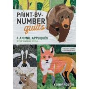Paint by Number Quilts by C&T Publishing - Thread Painting & Embellishment