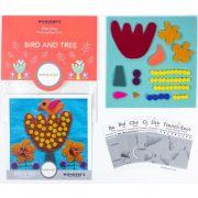 Sue Spargo Bird and Tree Colourway 4 Precut Wool Kit by Sue Spargo Merino Wool - PreCut Wool Kits