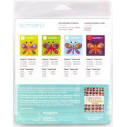 Sue Spargo Butterfly Colourway 3 Precut Wool Kit by Sue Spargo Merino Wool - PreCut Wool Kits