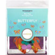 Sue Spargo Butterfly Colourway 4 Precut Wool Kit by Sue Spargo Merino Wool - PreCut Wool Kits