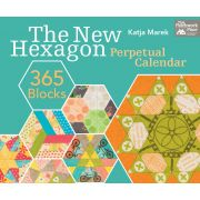 New Hexagon Perpetual Calendar 365 Blocks by Katja Marek by Martingale & Company Reference - OzQuilts