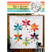 Ring of Flowers Quilt Pattern and Templates Included by Freebird Quilting Designs by Free Bird Quilting Designs Applique - OzQuilts