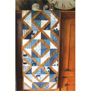 Clara Table Runner by Cut Loose Press Patterns Stripology Ruler Patterns - OzQuilts