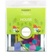 Sue Spargo House Colourway 1 Precut Wool Kit by Sue Spargo Merino Wool - PreCut Wool Kits