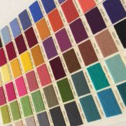 Merino Wool Colour Card by Sue Spargo Merino Wool - Sue Spargo Merino Wool Fabric