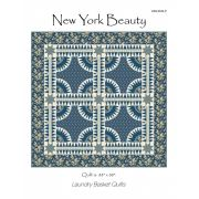 New York Beauty Quilt Pattern by Edyta Sitar by Edyta Sitar of Laundry Basket Quilts Applique - OzQuilts