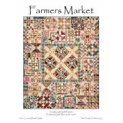 Farmers Market Quilt Pattern by Edyta Sitar by Edyta Sitar of Laundry Basket Quilts Quilt Patterns - OzQuilts
