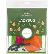 Sue Spargo Ladybug Colourway 3 Precut Wool Kit by Sue Spargo Merino Wool - PreCut Wool Kits