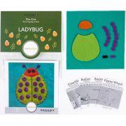 Sue Spargo Ladybug Colourway 4 Precut Wool Kit by Sue Spargo Merino Wool - PreCut Wool Kits