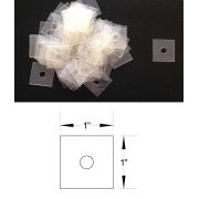OzQuilts Heat Resistant Mylar Square Shapes for English Paper Piecing & Applique by OzQuilts - Mylar Templates