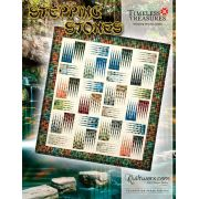 Stepping Stones Quilt Pattern & Foundation Papers by Judy Niemeyer by Quiltworx - Judy Niemeyer Quiltworx