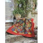 """Perprtuum Mobile Traditional Template Set from Millefiori Quilts 3 - Original Size 1"""" by OzQuilts - Millefiori Book 3"""