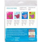 Sue Spargo Polka Dot Bird Colourway 2 Precut Wool Kit by Sue Spargo Merino Wool - PreCut Wool Kits